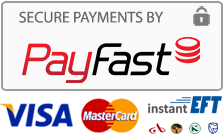 Secure Payments by Payfast.co.za